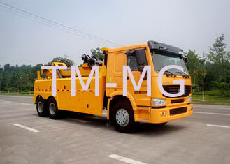 Durable 100KN Safe Wrecker Tow Truck , Breakdown Recovery Truck For Highway / City Road Clearing Jobs
