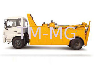 Durable 155KW 80KN Wrecker Tow Truck , 6tons - 60tons Breakdown Recovery Truck