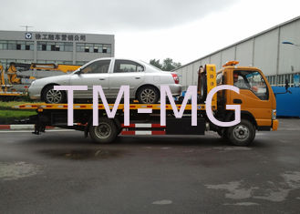 Durable Boom / Lifting Separated Wrecker Tow Truck 40KN For Highway Emergency