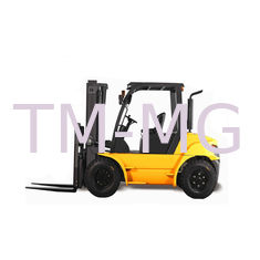 Forklift new 5 ton 25 ton FD50T diesel forklift with paper roll clamp
